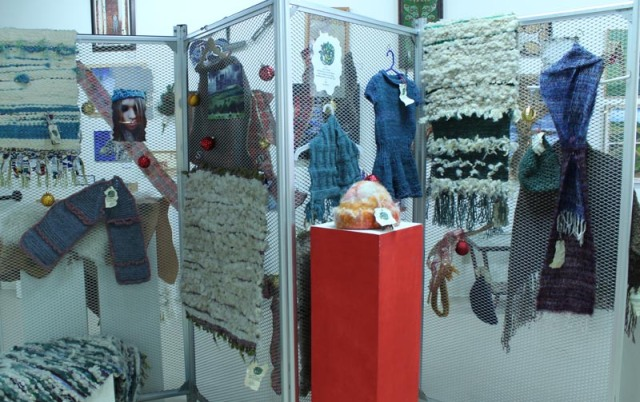 Hand woven rugs and garments