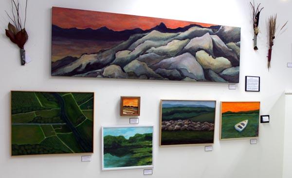 Acrylic paintings at Holi-Dazzle